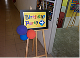 kids birthday art jam or art party