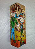 wine box acrylic painting children art class